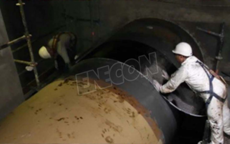 Carbon Fiber protection for power plant