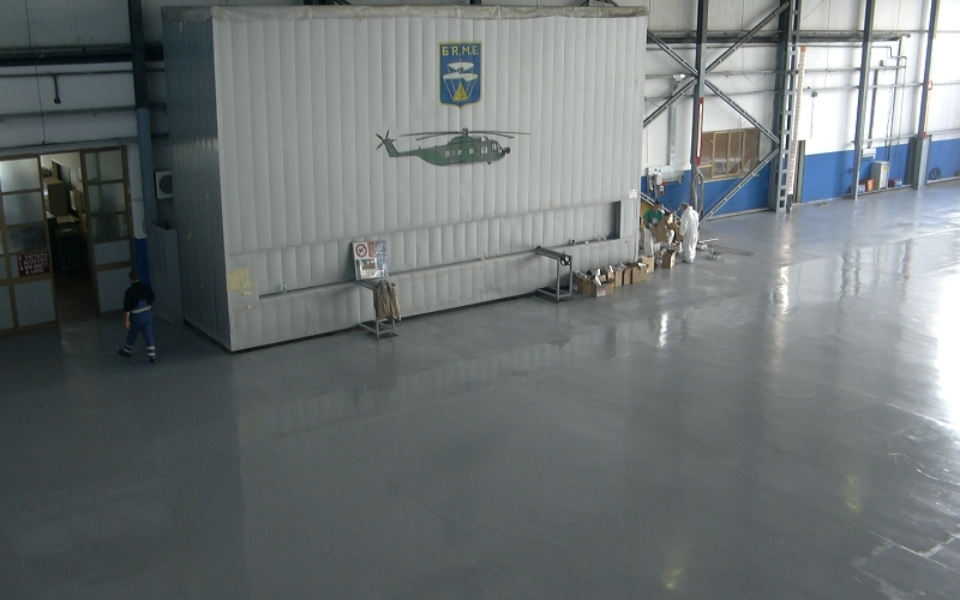 Industrial Floor Protection