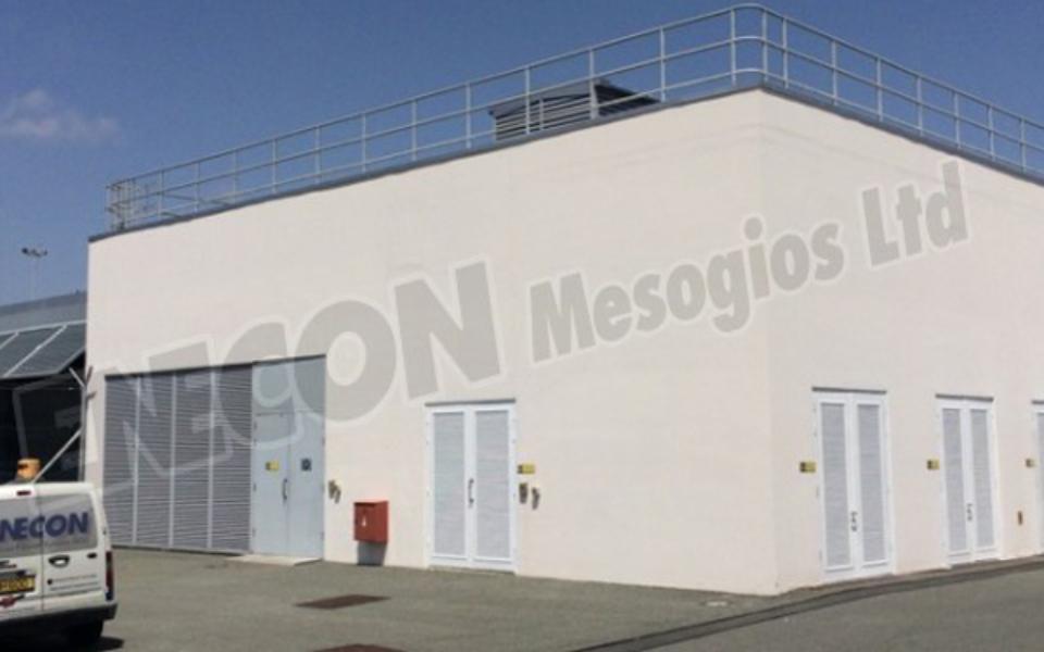 Airport Metallic Doors (Generator room)
